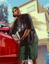 GTA V /lamar-stealing-car.jpg